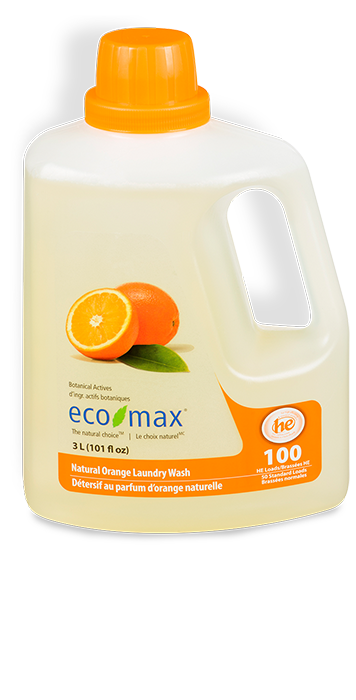 Natural Orange Laundry Wash
