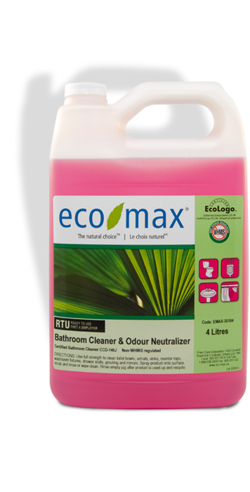 Bathroom Cleaner & Odour Neutralizer - Eco-Max