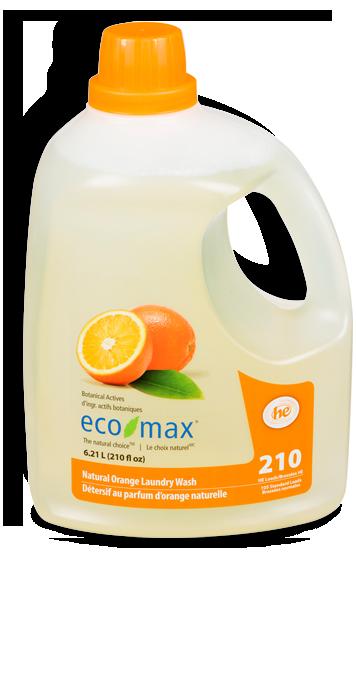 6 21l Natural Orange Laundry Wash Eco Max